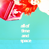 ☮ + ♡ + ☺: doctor who - ap; time and space