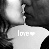 """A/R black and white RS II kissage """"love"""""""