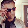 Sherlock/Lestrade in shades