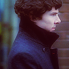 The good kind of bitchy and flippant!: sherlock - sherlock dramatic close-up pr