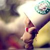 starbucks + bear = <3
