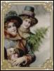 Весёлые девушки с собачкой и ёлкой (винт