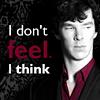 I don't feel