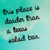 texas salad bar