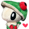 Breloom Heart Pokedoll