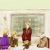 Hetalia: Group (blackboard)