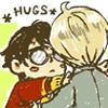 · daryn · da · teddy ·: Drarry (Hug)