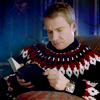 john awesome sweater reading