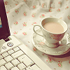 laptop & coffe