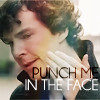 Sherlock: Punch me in the face