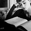 la fille heuruse.: audrey reading:: aimmyarrowshigh