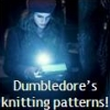 hermione knitting