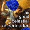 Sivaroobini: THE GREAT CELESTIAL CHEERLEADER