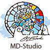 MD-Studio logo blown-up