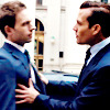 { embracing the storm }: Suits: Harvey/Mike