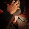 Late Night Drops of Random: Dean with his hand on the fedora
