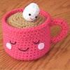 cute food: cup love
