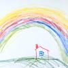Port: house rainbow
