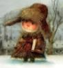 зимние  мороженные книги