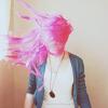 kalisgirl: pink hair yay!