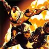 cap/iron man by bellstark