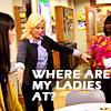 fickery: Leslie where my ladies at