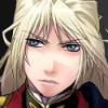 Gundam Wing; Milliardo; blonde
