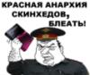 красная анархия скинхэдов, б...