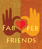 Text - Fab Friends - heart in 2 hands