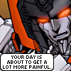 Starscream g1 → Day more painful