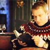 Campaspe: Sherlock \\ John; cardigan