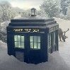 Antje: TARDIS  im Schnee