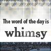 lriG rorriM: whimsy
