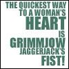 hakuchin: Bleach - Grimmjow Fist