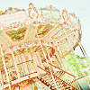 (her head was full of fairy tales): carousel