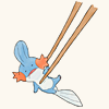 Pokemon ♪ Chopsticks Mudkip