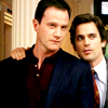 Sholio: WhiteCollar-Neal hand on Peter's shoulde