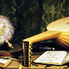 Lute and globe