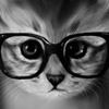 lorakroft: думательный кот