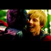 Bunny: Arthur hugs Merlin