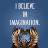 I believe in imagination! - Ravenclaw HP