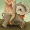 elephant, carousel, lolita