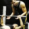 Work out - Helo/Kara - BSG
