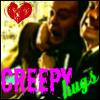 gene and sam creepy hugs
