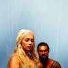 agathons_fan: GoT - Dany and Drogo Blue