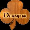 dhamphir wooden shamrock