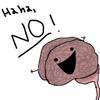 general: my brain hates me