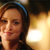 Frances: Gossip Girl - Blair - little smirk