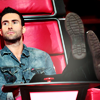 celeb - Adam's kicking back