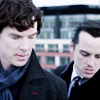 Fall Moriarty and sherlock